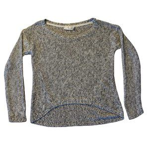 Retrod Marled Knit Scoop-Neck Sweater